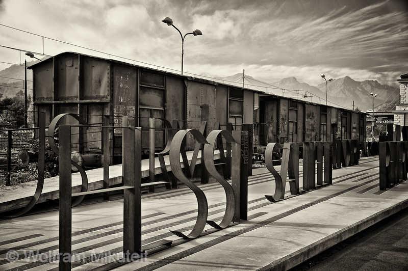 Memoriale della Deportazione - Borgo San Dalmazzo im Stuatal - Foto: © Wolfram Mikuteit