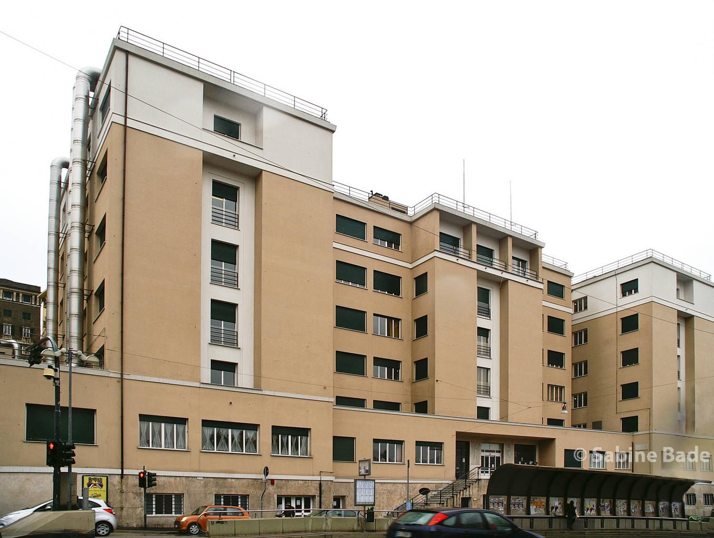 Casa dello Studente - Genua - Foto: © Sabine Bade