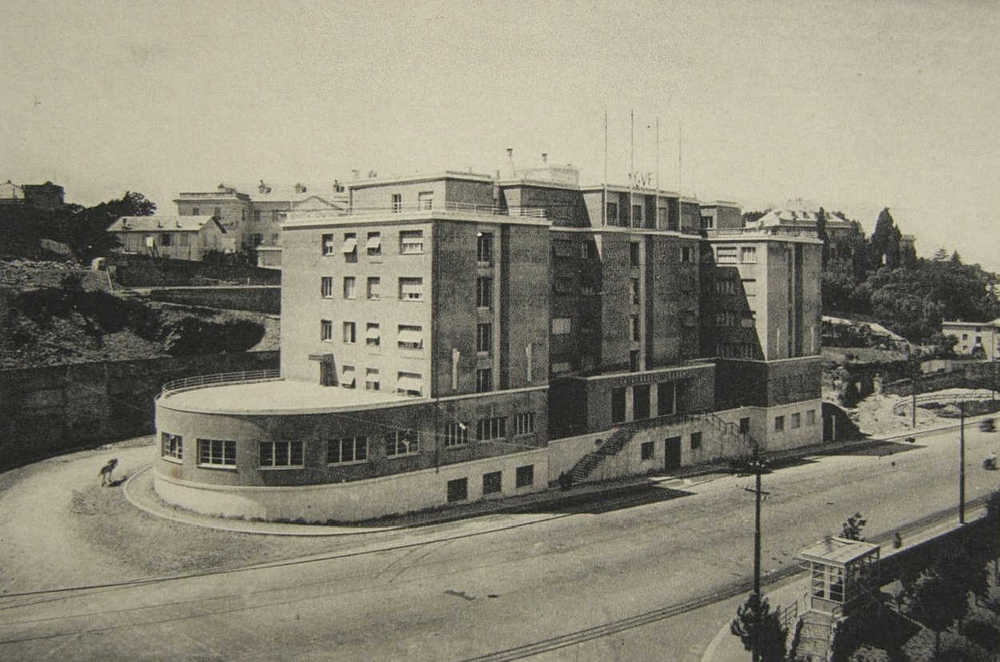 Casa dello Studente - Genua, Aufnahme Ende der 30er Jahre
