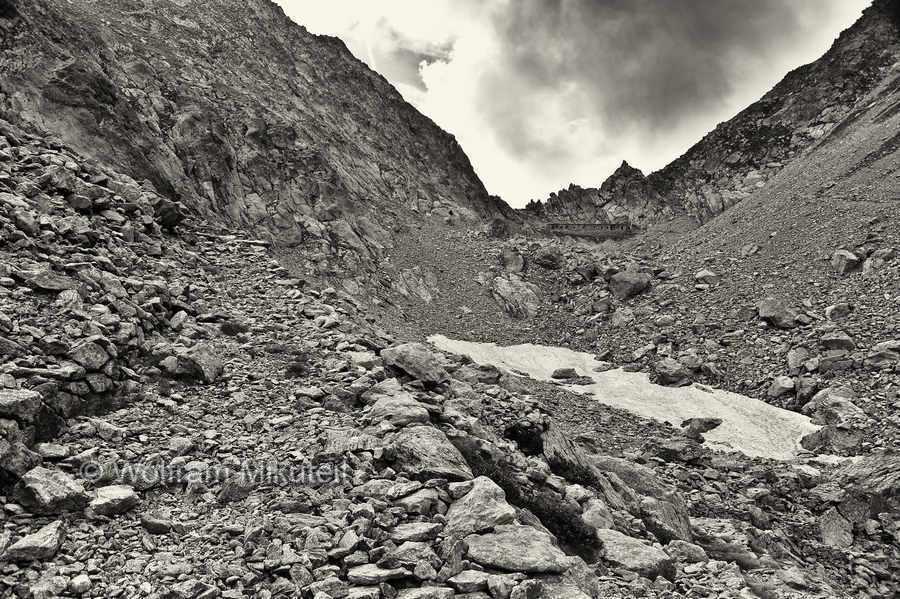 Aufstieg zum Colle di Finestra - 2.474 m - Foto: © Wolfram Mikuteit