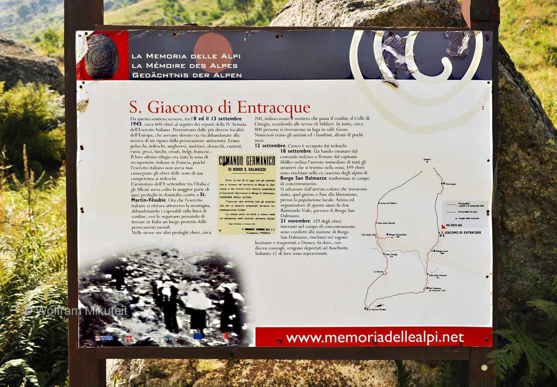 La Memoria delle Alpi - S. Giacomo di Entracque - Foto: © Wolfram Mikuteit