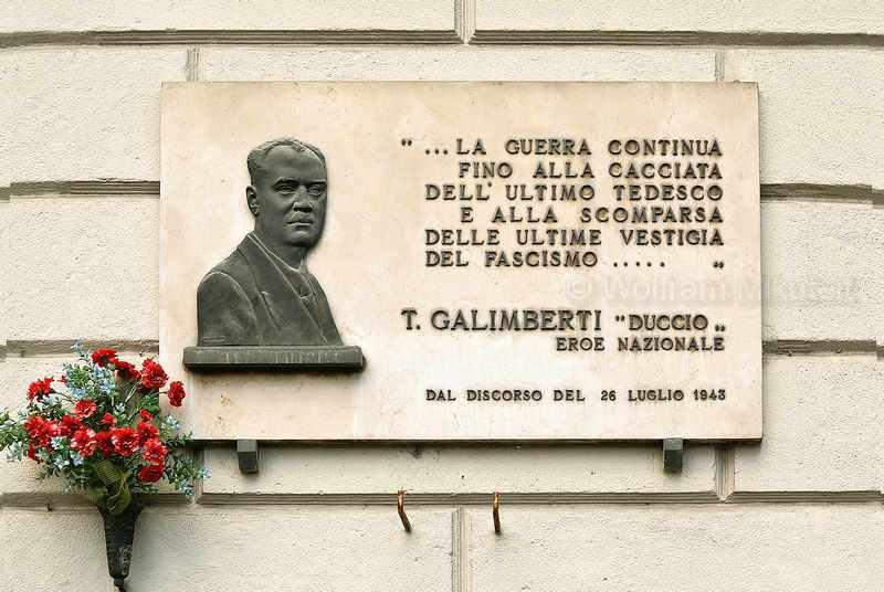 Erinnerung an Duccio Galimberti, Cuneo – Foto: © Wolfram Mikuteit