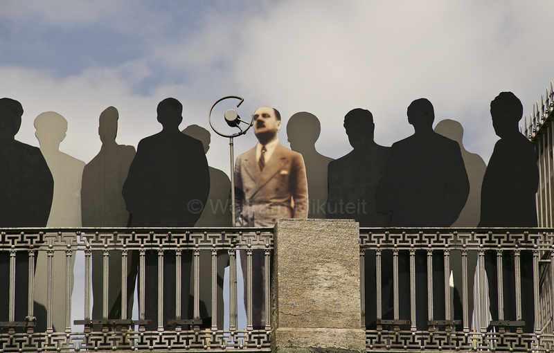 Duccio Galimberti vom Balkon seiner Kanzlei in Cuneo – Foto: © Sabine Bade