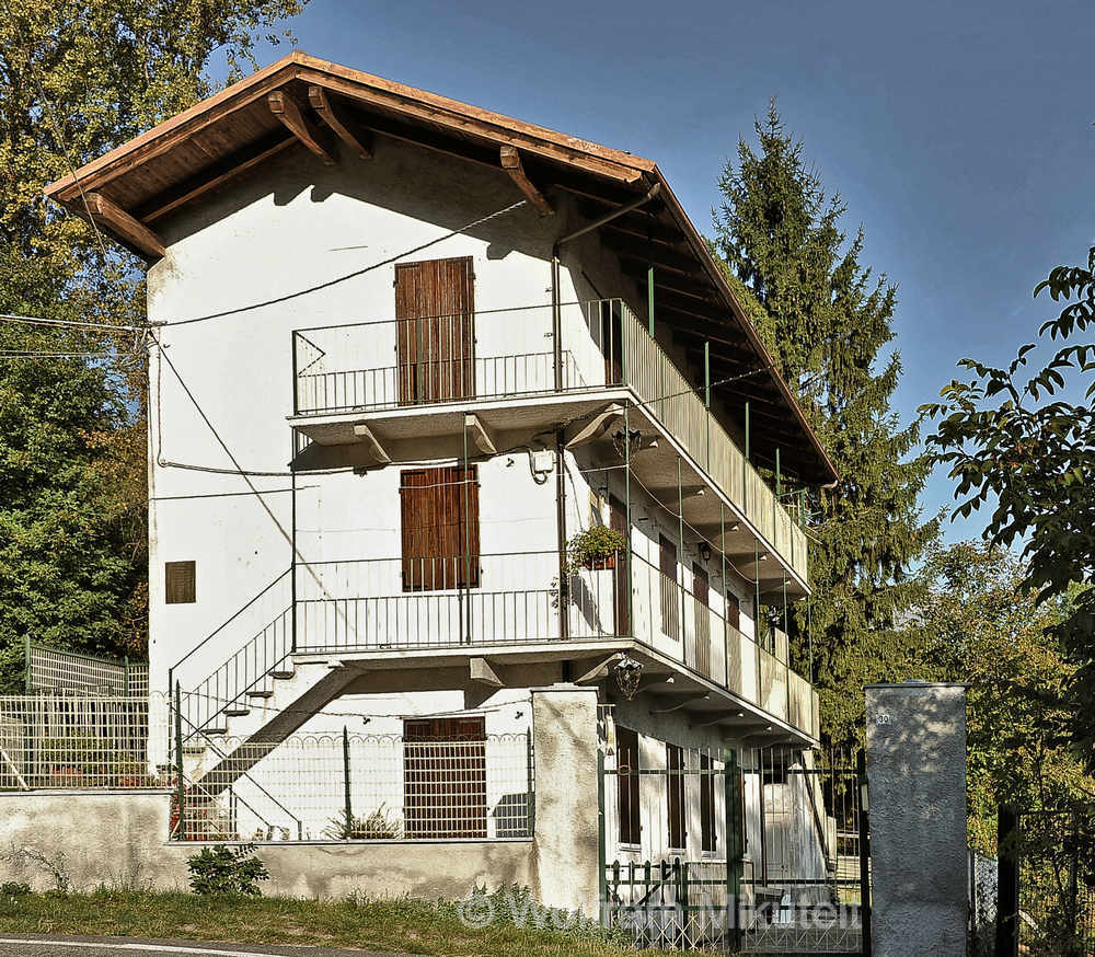 ehem. Haus von Ada Gobetti in Meana di Susa - Foto: © Wolfram Mikuteit