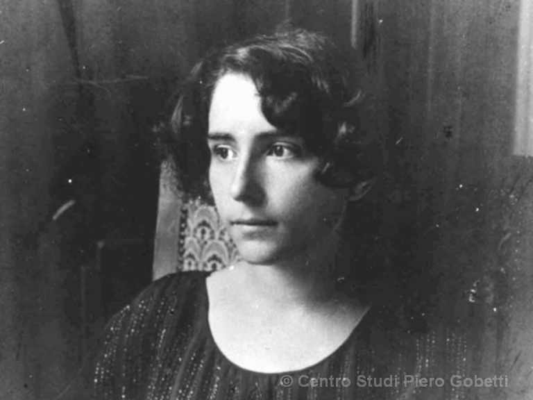 Ada Gobetti an ihrem Hochzeitstag, 11. Januar 1923 - mit freundlicher Genehmigung: © Centro Studi Piero Gobetti