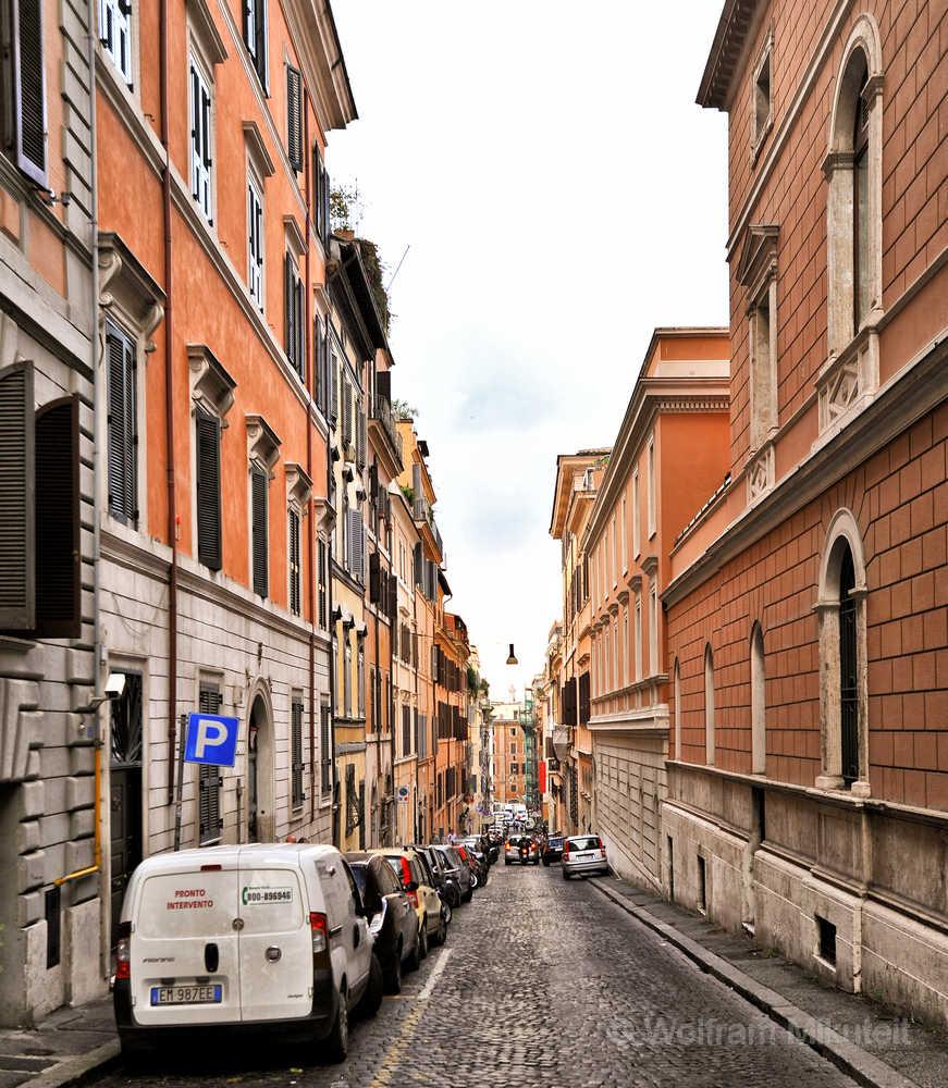 Via Rasella, Rom - Foto: © Wolfram Mikuteit
