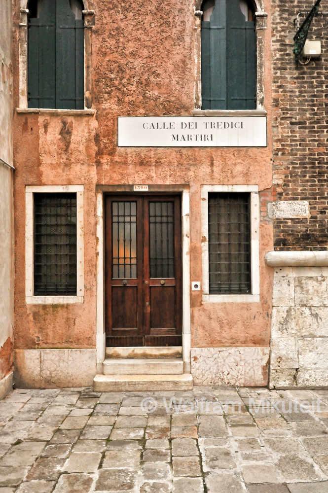 Venedig - Calle dei Tredici Martiri - Foto: © Wolfram Mikuteit