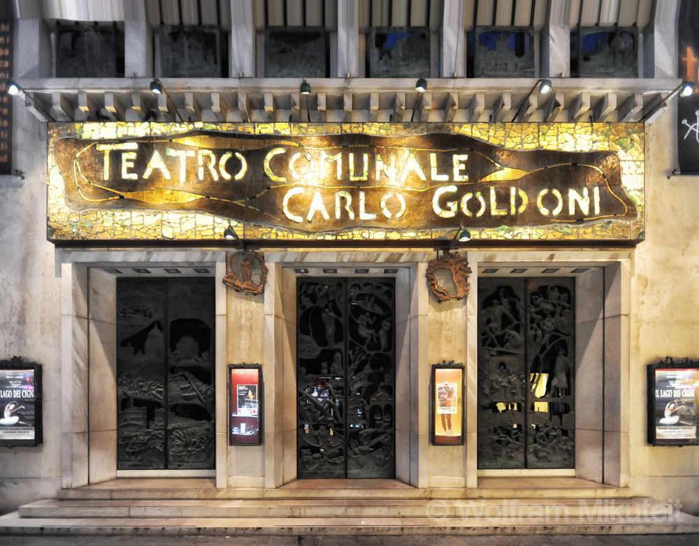 Venedig - Teatro Comunale Carlo Goldoni - Foto: © Wolfram Mikuteit