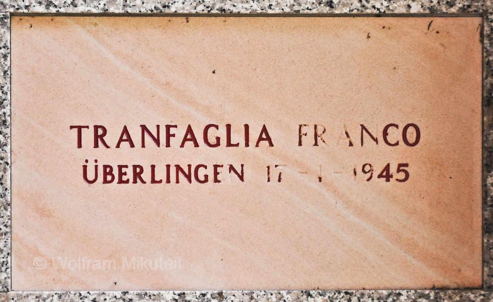 Franco Tranfaglia - Foto: © Wolfram Mikuteit