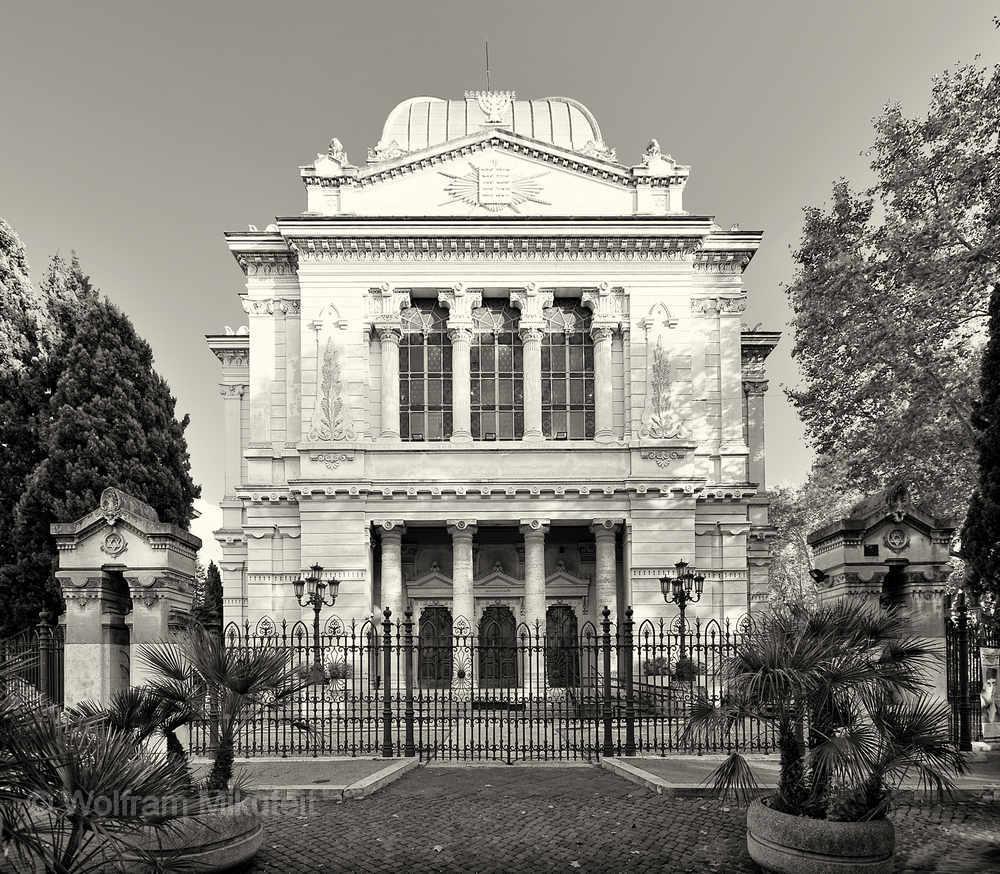 Synagoge in Rom - Foto: © Wolfram Mikuteit