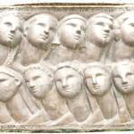 Denkmal für die am 7. Juni 1944 ermordeten 10 Frauen - Foto: © Wolfram Mikuteit