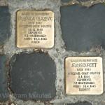 Stolpersteie in Rom - Foto: © Wolfram Mikuteit