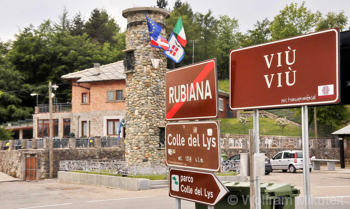 Colle del Lys - Übergang vom Susa- ins Viùtal - Foto: © Wolfram Mikuteit