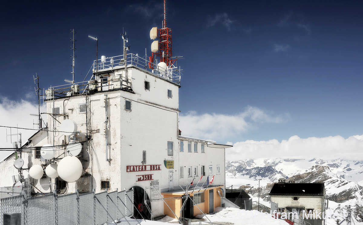 von Cogne hielten die Partisanen Funkverbindug mit dem Plateau Rosa an der Schweizer Grenze - Foto: © Wolfram Mikuteit