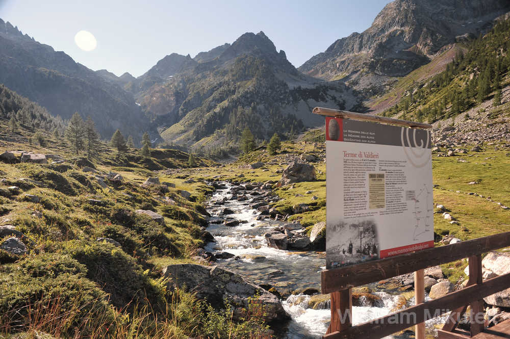 Gias della Casa, 1.600 m, - Foto: © Wolfram Mikuteit