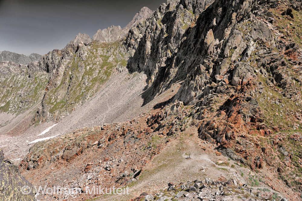 Colle Ciriegia, 2.543 m - Foto: © Wolfram Mikuteit
