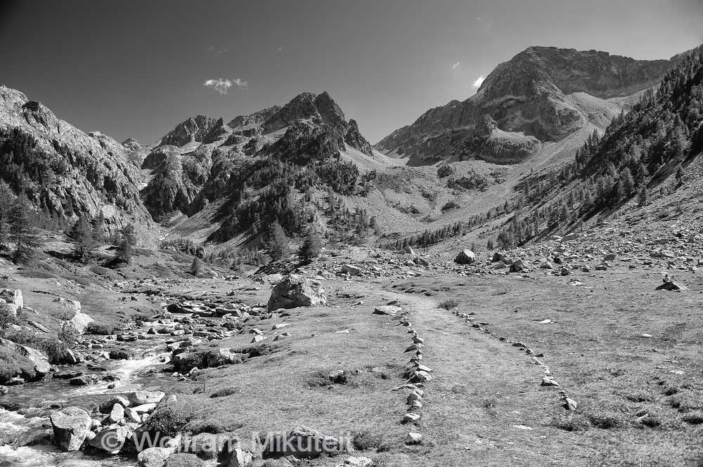 Gias della Casa, 1.600 m - Foto: © Wolfram Mikuteit