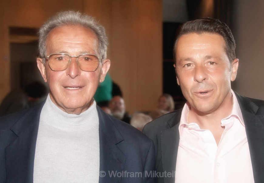 Enrico Pieri mit Sohn Massimo - Foto: © Wolfram Mikuteit