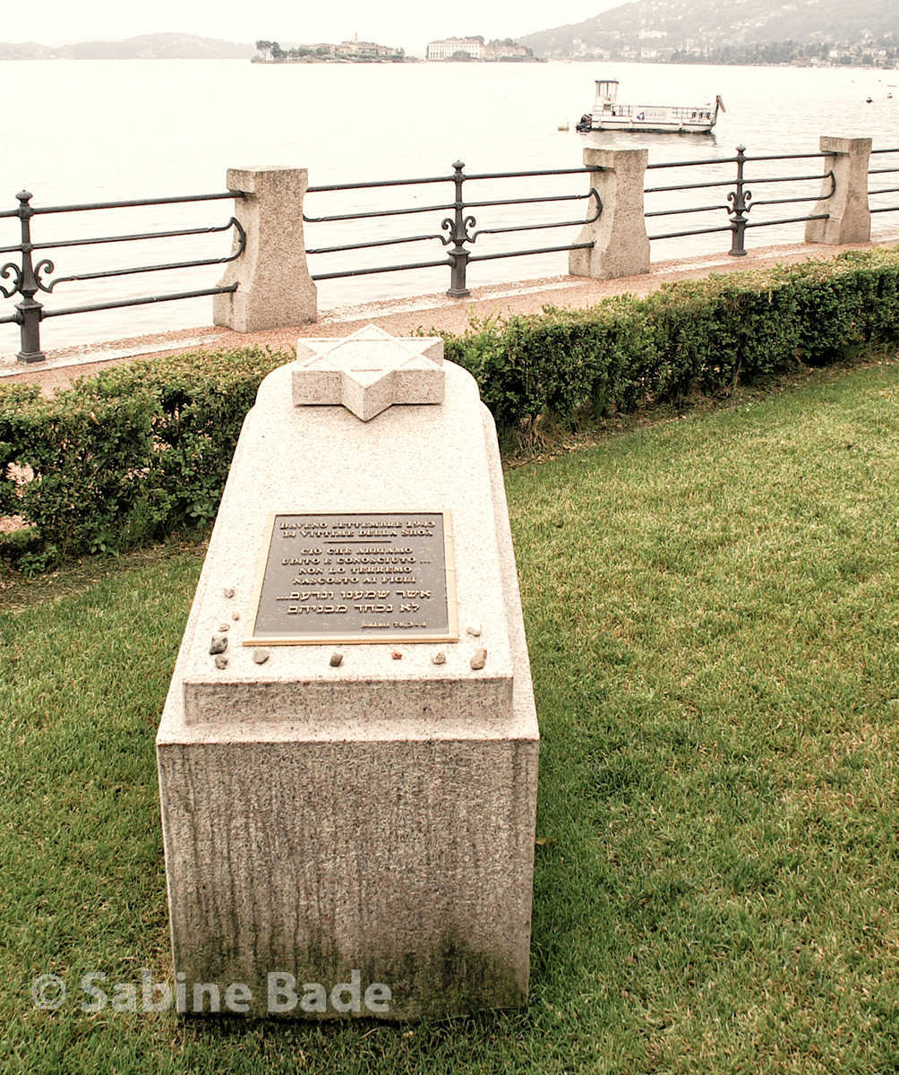 Gedenkstein für die ermordeten Juden aus Baveno - Foto: © Sabine Bade