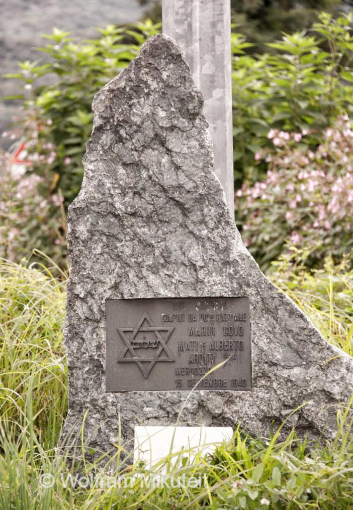 Gedenkstein für die Opfer aus Mergozzo - Foto: © Wolfram Mikuteit