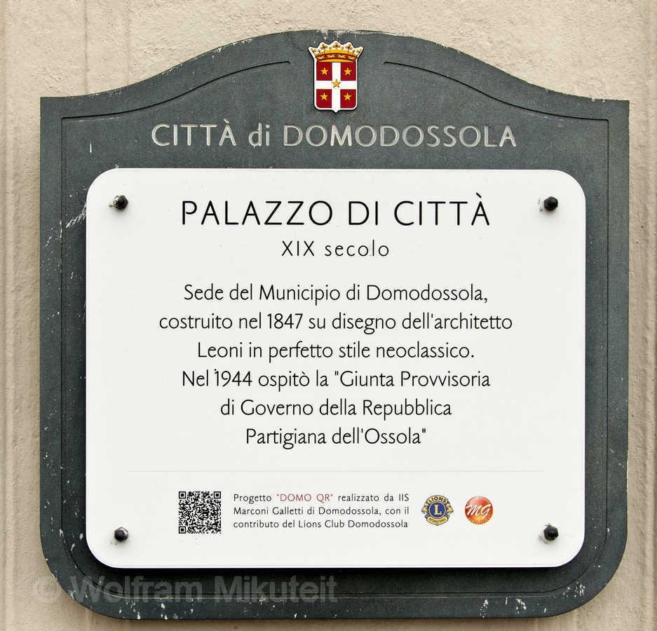 Domodossola, Palazzo di Citta
