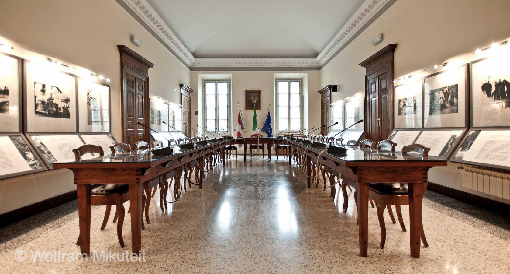 Sitzungssaal, Rathaus Domodossola