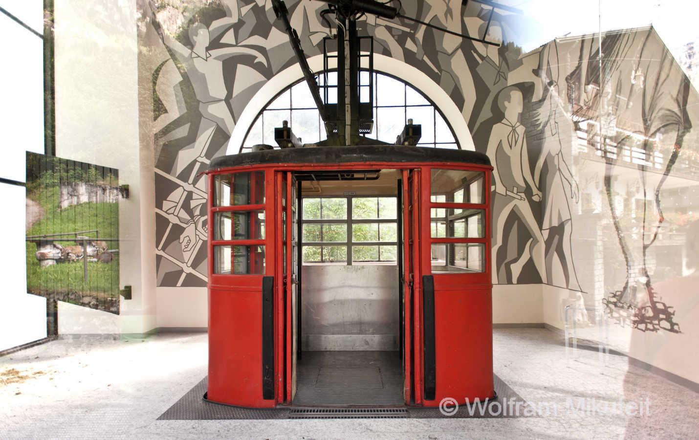 Kabinenbahn in Goglio