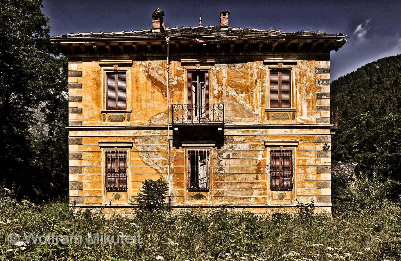 Villa Cibrario - Foto: © Wolfram Mikuteit