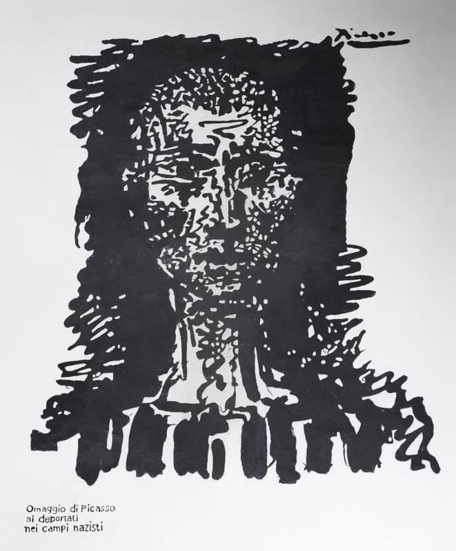 Graffiti von Pablo Picasso - Foto: © Wolfram Mikuteit