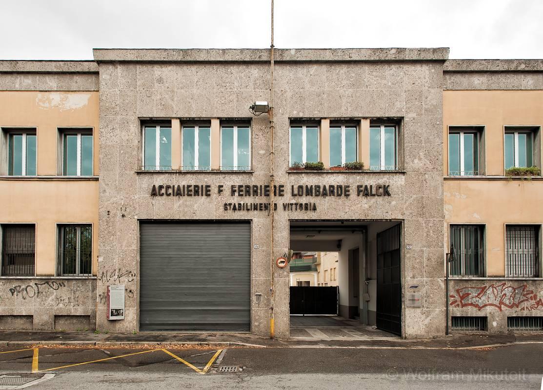 Firma Falck inSesto San Giovanni - Foto: © Wolfram Mikuteit