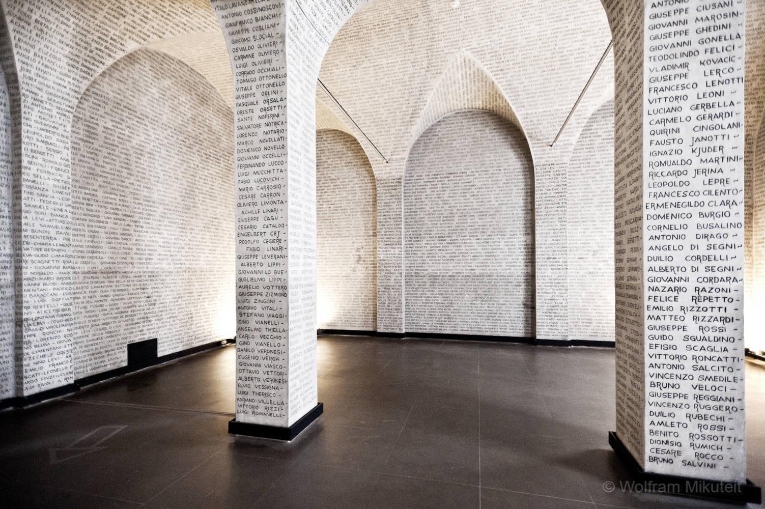 Museo monumento al deportato - Foto: © Wolfram Mikuteit