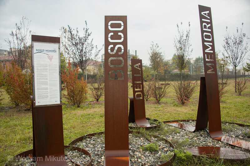 der Bosco della Memoria in Monza - Foto: © Wolfram Mikuteit