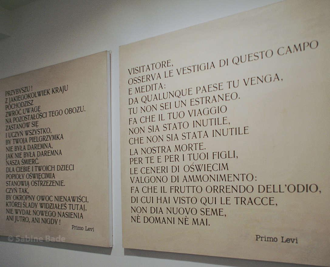 il Memoriale italiano di Auschwitz - die italienische Auschwitz-Gedenkstätte, jetzt in Florenz - Foto: © Sabine Bade
