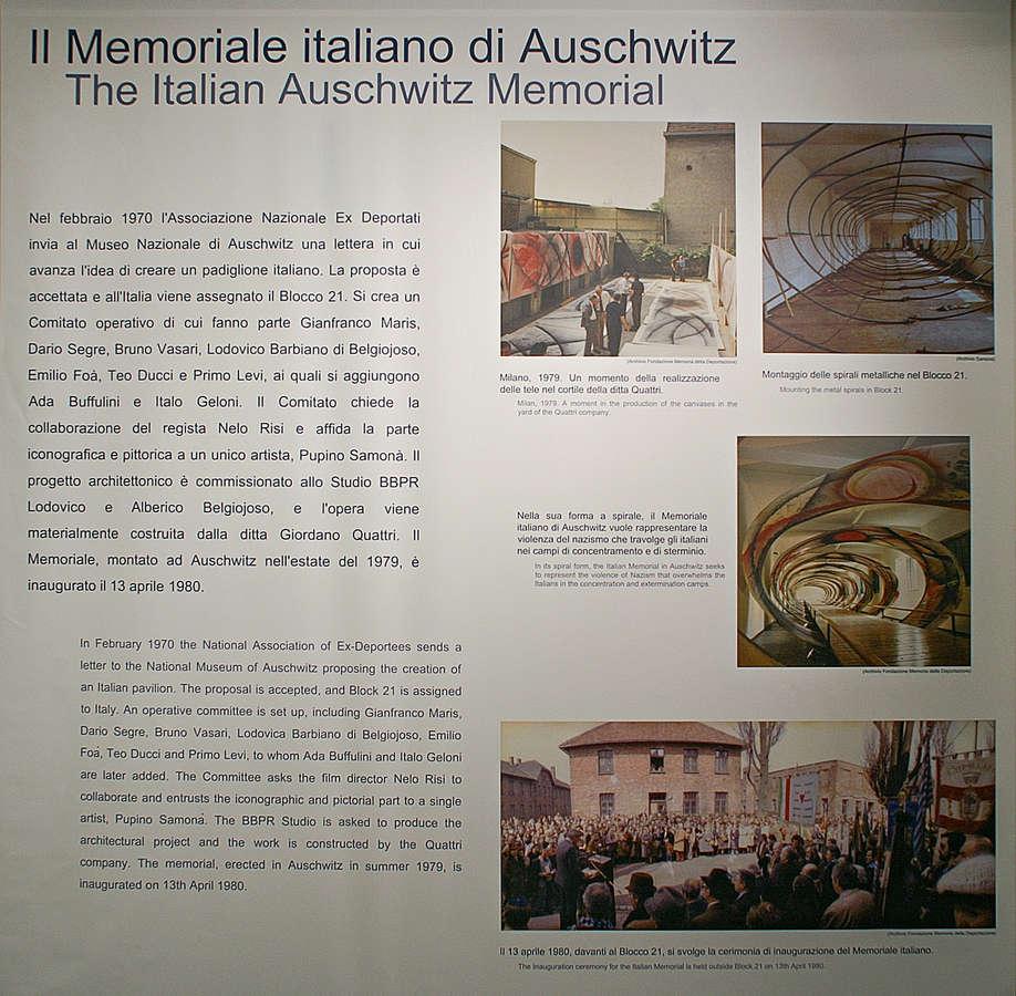 il Memoriale italiano di Auschwitz - Foto: © Sabine Bade