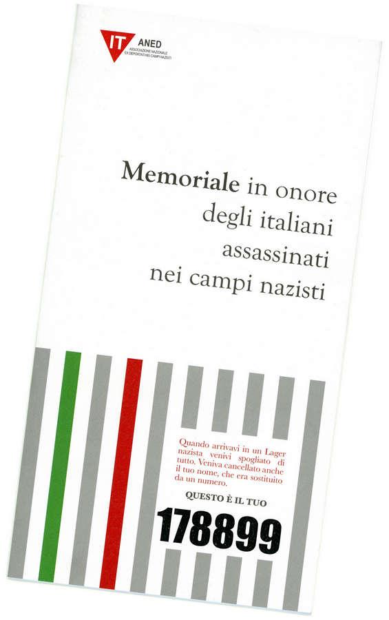 ANED - Memoriale in onore degli italiani assassinati nei campi nazisti